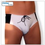 Swim Brief - Black & White